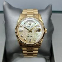 Rolex Day-Date 36 Yellow gold 36mm Mother of pearl Malaysia