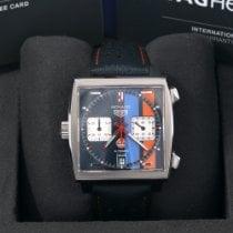 TAG Heuer Monaco Calibre 11 Steel 39mm Blue No numerals United States of America, California, Los Angeles
