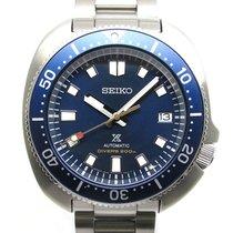 Seiko (セイコー) Prospex 中古 42mm ブルー 日付表示 ステンレス