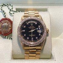 Rolex Day-Date 36 Yellow gold 36mm Black No numerals United States of America, Texas, Dallas