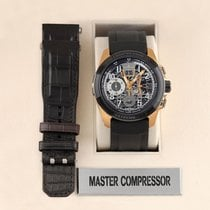 Jaeger-LeCoultre Master Compressor Extreme LAB 2 Tribute to Geophysic Roségold 46.8mm Transparent