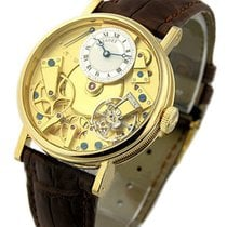 Breguet Tradition pre-owned 37mm Crocodile skin