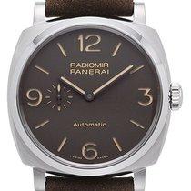 Panerai Titanium Automatic Brown Arabic numerals 45mm new Radiomir 1940 3 Days Automatic