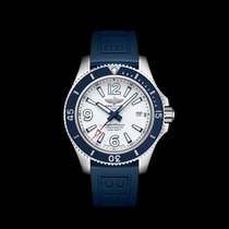 Breitling Superocean 42 Steel 42mm White Arabic numerals United States of America, New York, New York