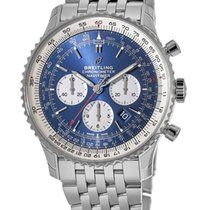 Breitling Navitimer 01 (46 MM) Steel 46mm Blue No numerals United States of America, New York, New York