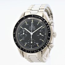 Omega Speedmaster Reduced Acero 37mm Negro Sin cifras España, Barcelona