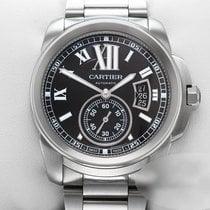 Cartier Calibre de Cartier Сталь 42mm Черный Римские