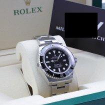 Rolex Sea-Dweller 4000 Stål 40mm Svart Inga siffror Sverige