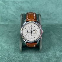 Breitling Transocean Chronograph 1461 Steel 43mm Silver