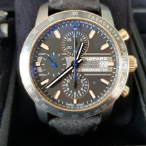 Chopard Grand Prix de Monaco Historique pre-owned 43mm Grey Leather
