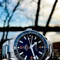 Omega Seamaster Planet Ocean Steel 43.5mm Black Arabic numerals United States of America, New Jersey, Vineland