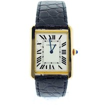 Cartier Tank Solo Yellow gold 34.8mm Silver United States of America, New York, New York