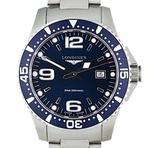 Longines HydroConquest Steel 39mm Blue Arabic numerals United States of America, Georgia, Atlanta