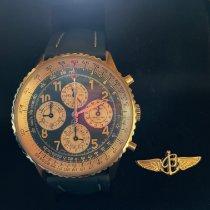 Breitling Navitimer 1461 gebraucht 41mm Blau Chronograph Datum