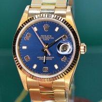 Rolex Oyster Perpetual Date 15238 Αφόρετο Κίτρινο χρυσό 34mm Αυτόματη Ελλάδα, Athens