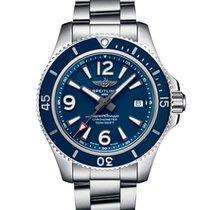 Breitling Superocean 42 Steel 42mm Blue Arabic numerals