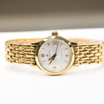Jaeger-LeCoultre Master Control Yellow gold 28mm Silver Arabic numerals