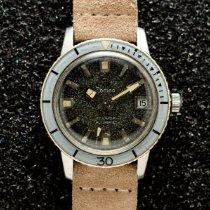 Zodiac Sea Wolf Сталь 35mm Черный Без цифр