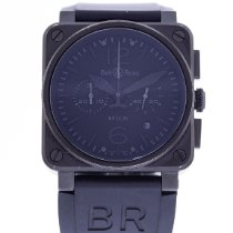 Bell & Ross BR 03-94 Chronographe pre-owned 42mm Black Rubber