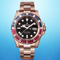 Rolex 126755SARU Rose gold 2020 GMT-Master II 40mm new United States of America, New York, New York
