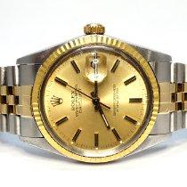 Rolex 16013 Золото/Cталь 1985 Datejust 36mm подержанные