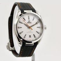 Omega Seamaster Aqua Terra Steel 41mm Silver No numerals