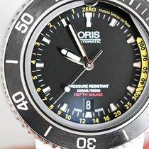 Oris Aquis Depth Gauge Steel 46mm Black No numerals United States of America, Virginia, lorton