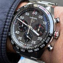 TAG Heuer Carrera Porsche Chronograph Special Edition Steel 44mm Grey Arabic numerals
