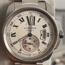 Cartier Steel 42mm Automatic 3389 pre-owned
