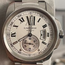 Cartier Calibre de Cartier 3389 Very good Steel 42mm Automatic