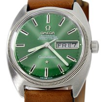 Omega Constellation Day-Date Steel 35mm Green No numerals United States of America, Utah, Draper