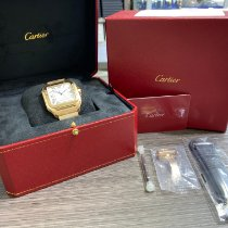 Cartier Santos 100 Rose gold 42mm Silver Roman numerals United States of America, New York, NEW YORK