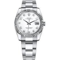 Rolex Oyster Perpetual Date Steel 34mm White Arabic numerals United Kingdom, London