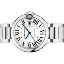 Cartier Ballon Bleu 33mm new 2021 Automatic Watch with original box and original papers W6920071