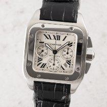 Cartier Santos 100 Stahl 40.5mm Silber Deutschland, Chemnitz