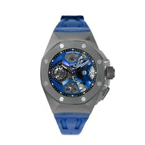 Audemars Piguet Royal Oak Concept Титан 44mm Cерый Без цифр