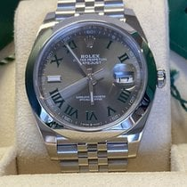 Rolex Datejust 126300 Αφόρετο Ατσάλι 41mm Αυτόματη