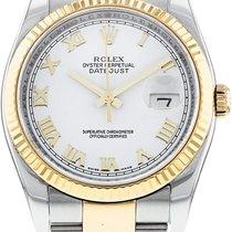 Rolex Datejust 116233-0178 Mycket bra Guld/Stål 36mm Automatisk Sverige, Stockholm