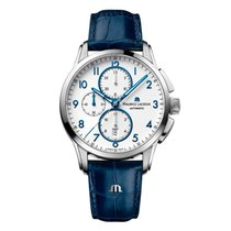 Maurice Lacroix Pontos Chronographe new 2021 Automatic Chronograph Watch with original box and original papers PT6388-SS001-120-4