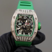 Richard Mille RM 010 Oro blanco Transparente