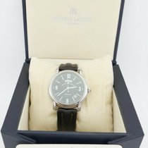 Maurice Lacroix Pontos Day Date Steel 38mm Black