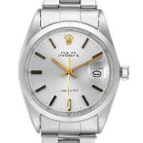 Rolex Steel Manual winding Silver 35mm pre-owned Oyster Precision