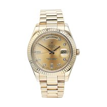 Rolex Yellow gold 41mm Automatic 218238 pre-owned