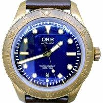 Oris Carl Brashear Bronze 42mm Blue No numerals United States of America, Florida