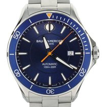 Baume & Mercier Clifton Steel 42mm Blue United States of America, Illinois, BUFFALO GROVE