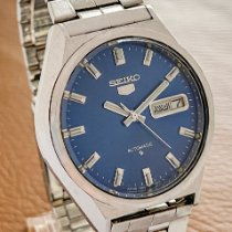 Seiko 5 Steel 36mm Blue