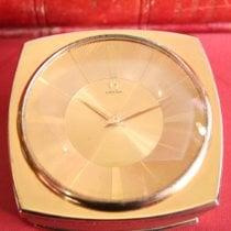 Omega omega table clock Uspokojivé Bronz Ruční natahování