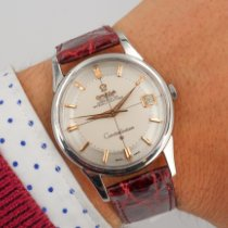Omega 14393 Steel 1961 Constellation 34mm pre-owned