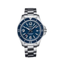 Breitling Superocean 42 Steel 42mm Blue Arabic numerals United States of America, New York, New York