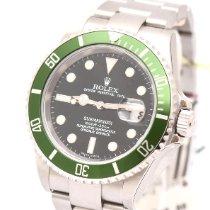 Rolex Submariner Date neu 2005 Automatik Uhr mit Original-Box und Original-Papieren 16610